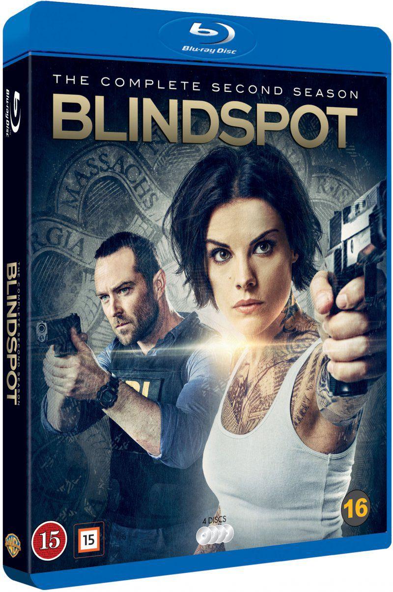 Blindspot blu-ray season 2 cover
