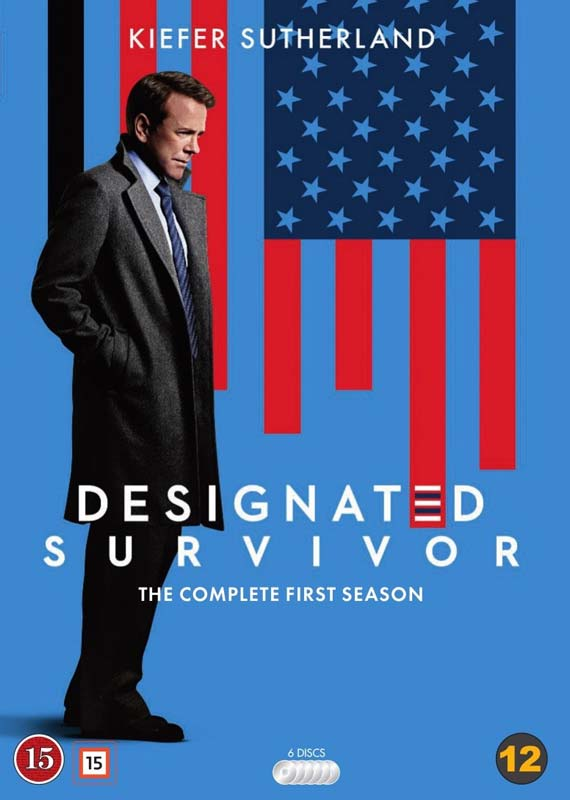 Designated Survivor dvd cover