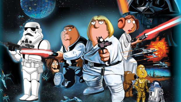 Family Guy Star Wars Trilogi blu-ray thumb