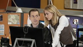 """Dead Letter"" -- The NCIS team, alongside the FBI and MI6, continue an international manhunt for an escaped British spy who has left one colleague fighting for their life in ICU, on NCIS, Tuesday, May 10 (8:00-9:00 PM, ET/PT), on the CBS Television Network. Sarah Clarke guest stars as FBI Special Agent Tess Monroe and Duane Henry guest stars as MI6 Officer Clayton Reeves. Pictured:  Sean Murray as Timothy McGee, Emily Wickersham as Eleanor Bishop.  Photo: Jace Downs/CBS ©2016 CBS Broadcasting, Inc. All Rights Reserved"