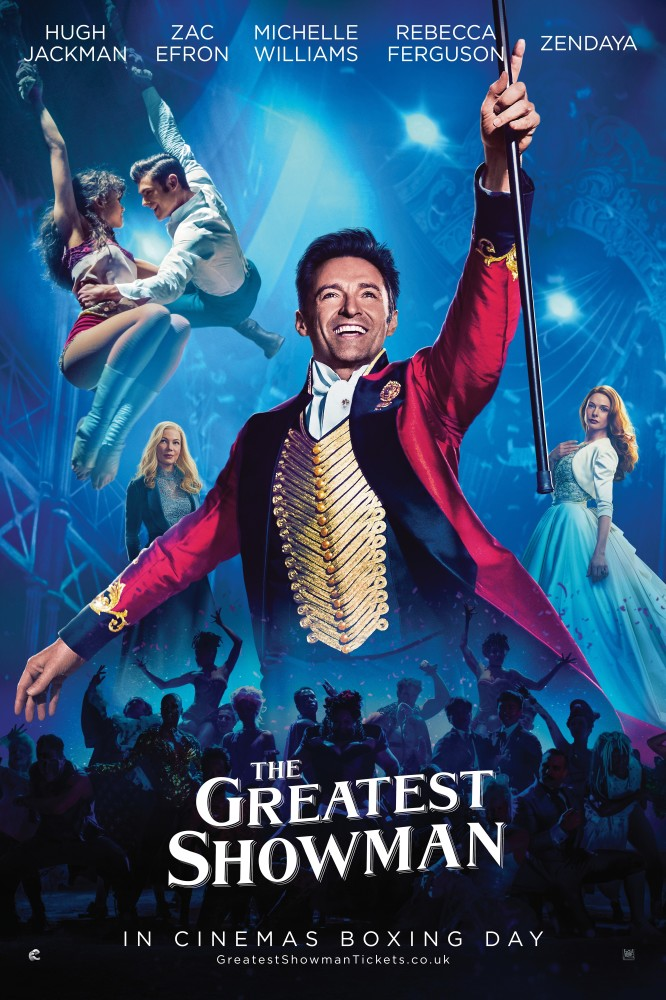 The Greatest Showman biograf poster