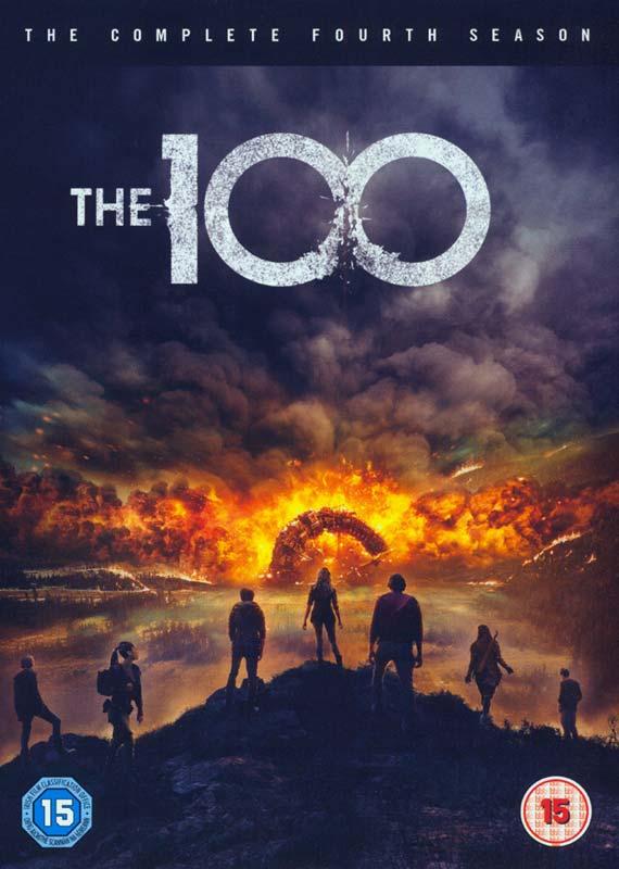 the 100 season 4 dvd cover