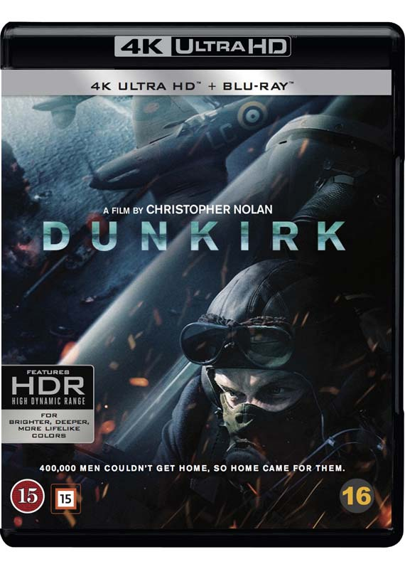 Dunkirk UHD cover
