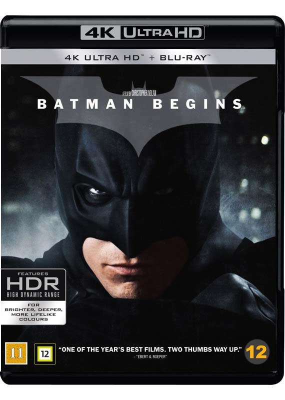 batman begins UHD cover