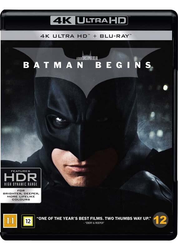 batman begins UHD cover