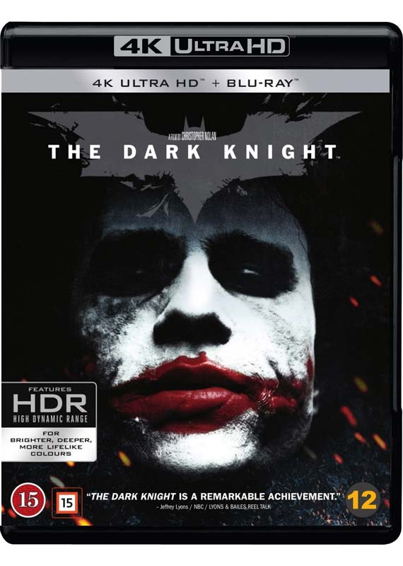 dark knight UHD cover