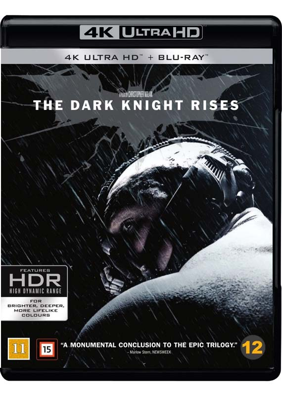 dark knight rises UHD cover