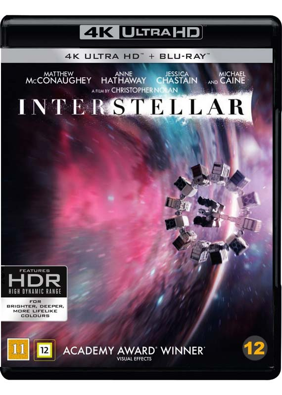 interstellar UHD cover