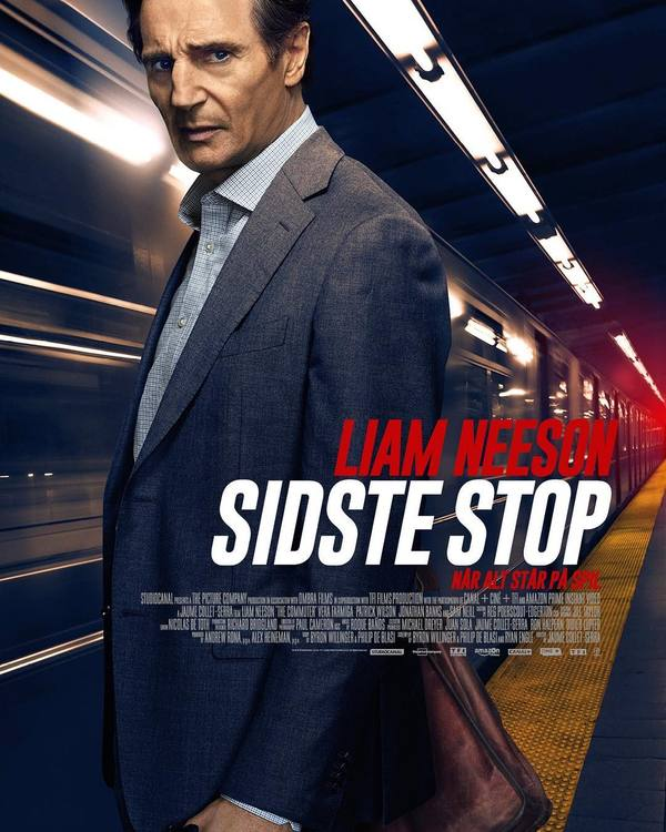sidste stop commuter poster