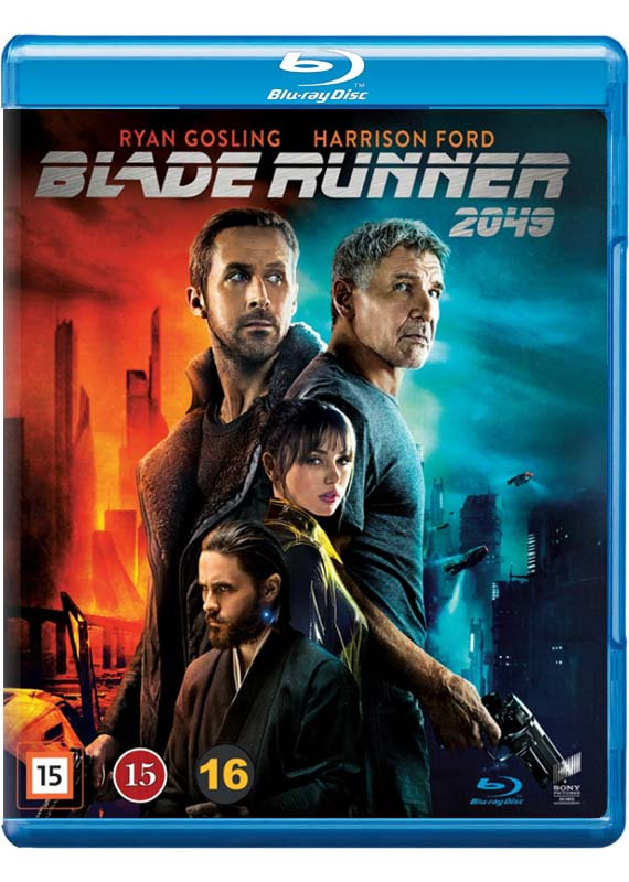 Blade Runner 2049 Blu-ray cover
