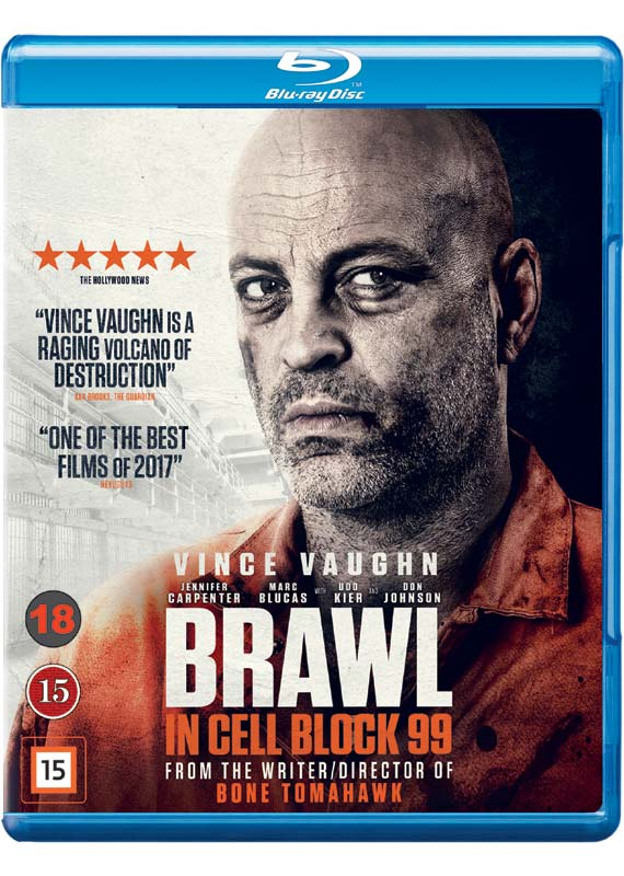 Brawl in Cell Block 99 Blu-ray cover