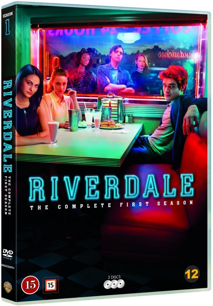 Riverdale Season 1 dvd cover