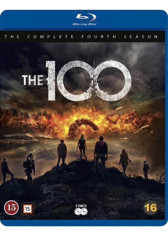 the 100 season 4 blu-ray cover