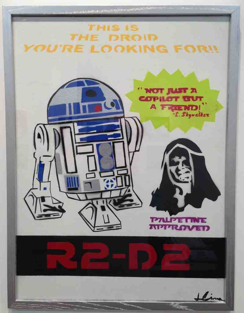 """Josh Sierra """"Trade in Your R5 Today"""" Palpetine Framed Edition"""