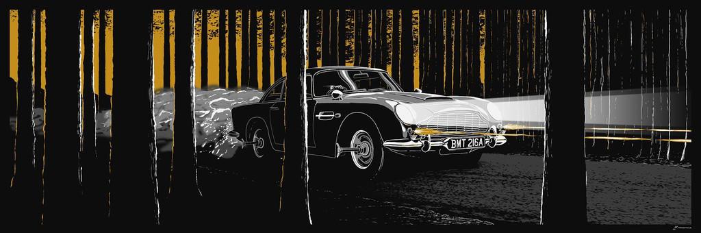 "Rob Loukotka:Fringe Focus ""007 DB5"""