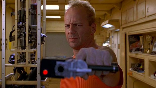 Det femte element Bruce Willis