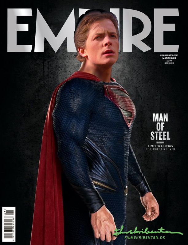 back to the future superman man of steel