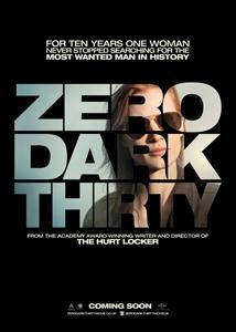 zero dark thirty poster