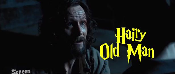 hairy oldman