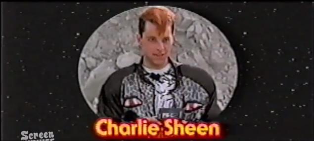 charlie Sheen superman