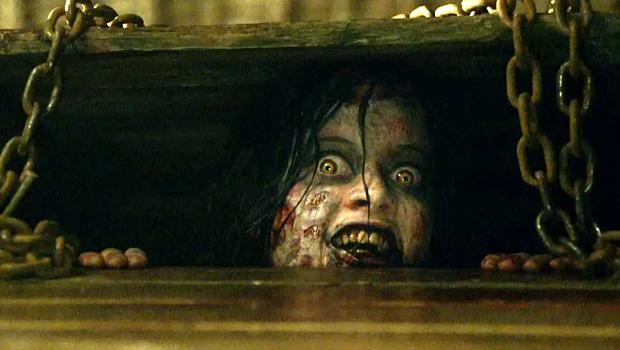 evil dead remake blodig weekend