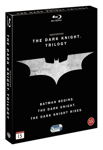 dark knight trilogy cover
