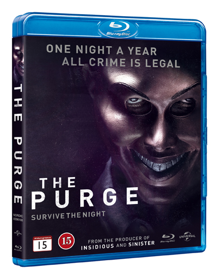 purge the blu-ray cover
