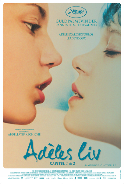 adeles blue is the warmest poster