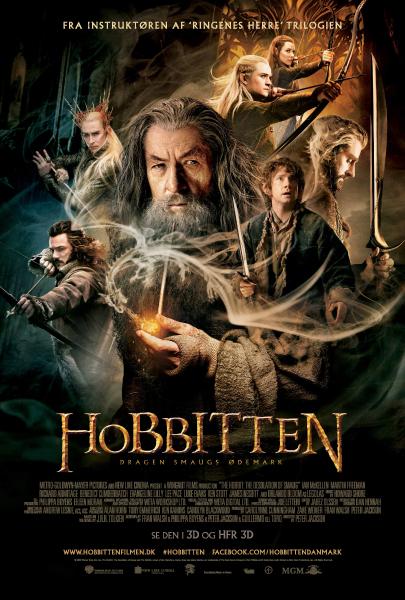 hobbitten smaug poster