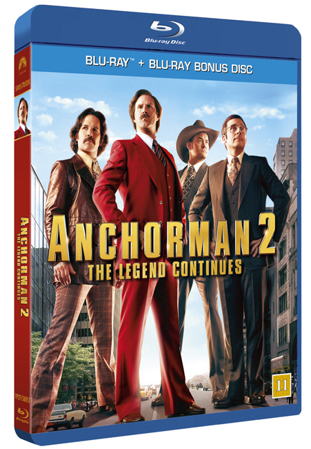 Anchorman 2 cover
