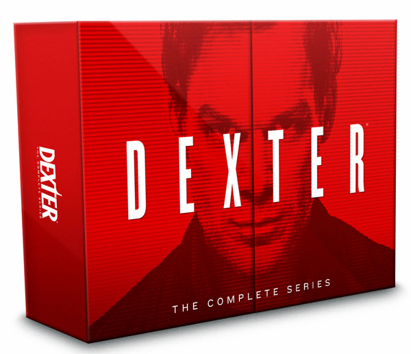Dexter the complete series BD cover