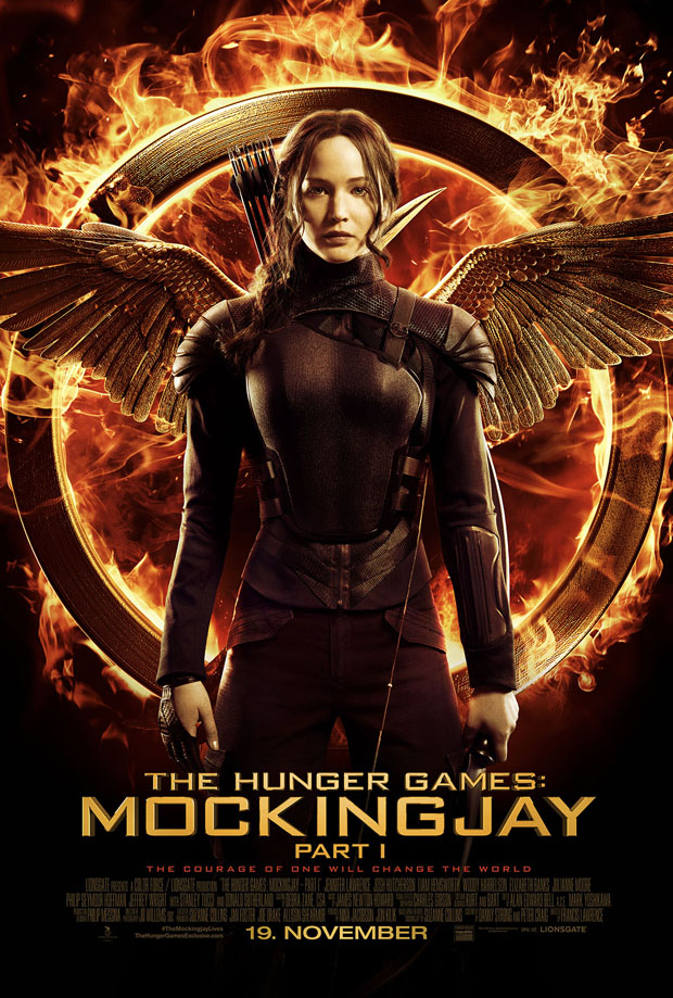 Hunger Games The Mockingjay part 1 poster 02