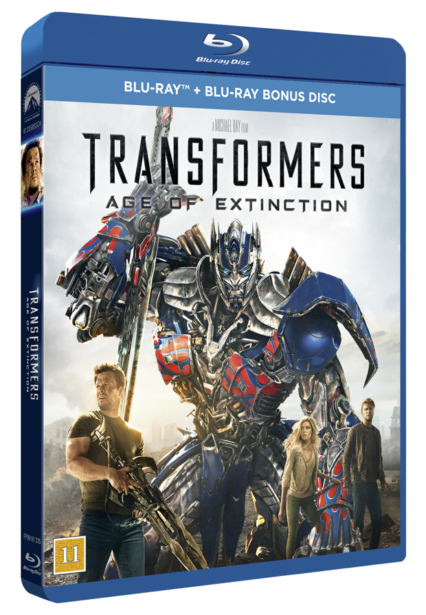 Transformers age of extinction 4 cover