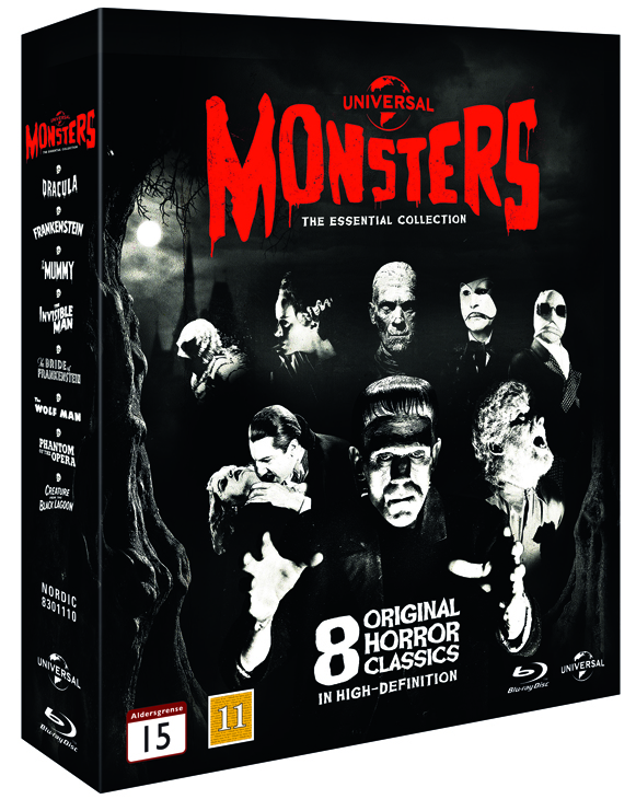 universal moster collection cover