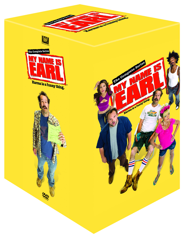 My name is Earl cover
