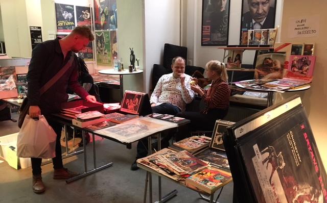 Blodig Weekend 2017 collectors market