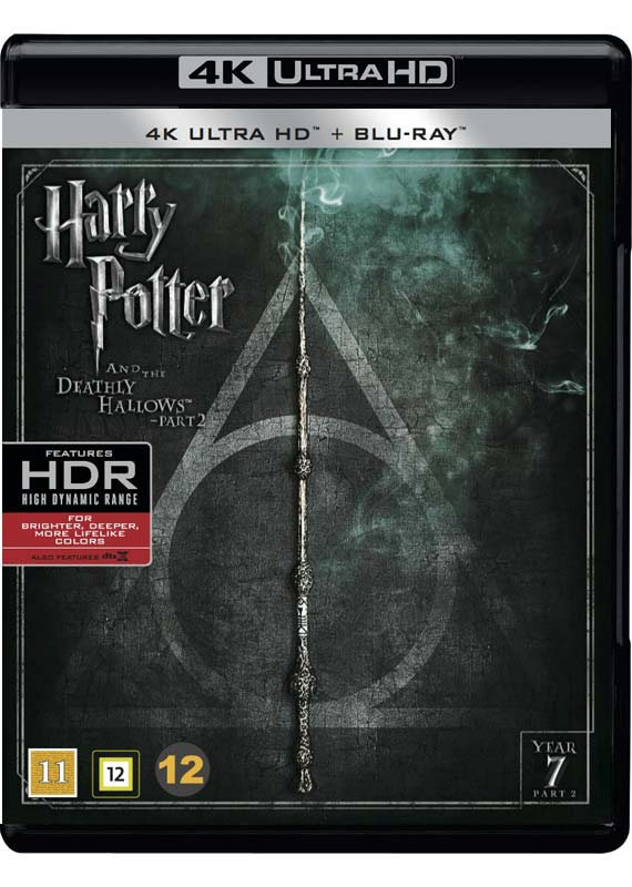 Harry Potter and the Deathly Hallows - Part 2 cover