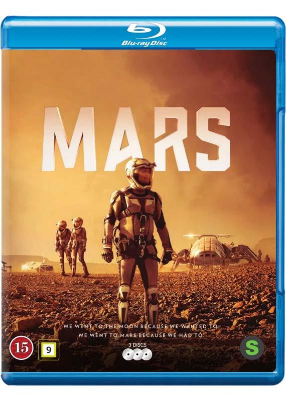 Mars blu-ray cover