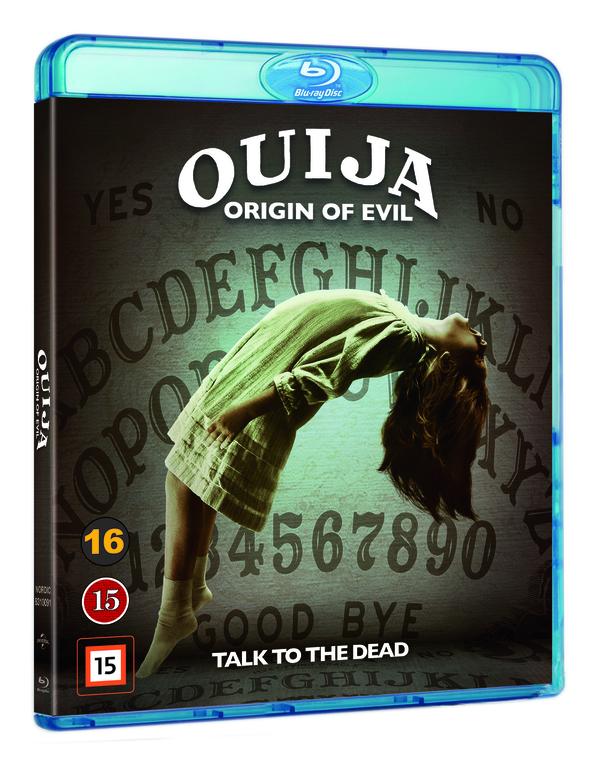 Ouija Origin of Evil blu-ray cover