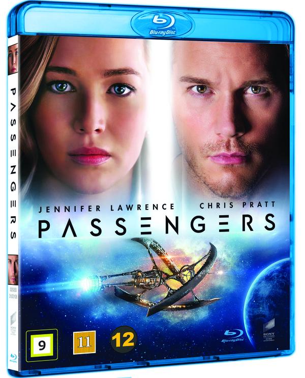 Passengers Blu-ray cover