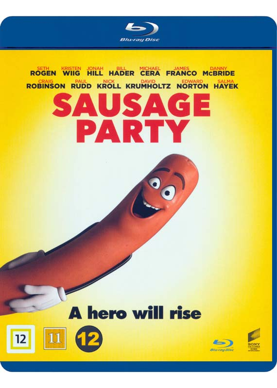 sausage party blu-ray cover