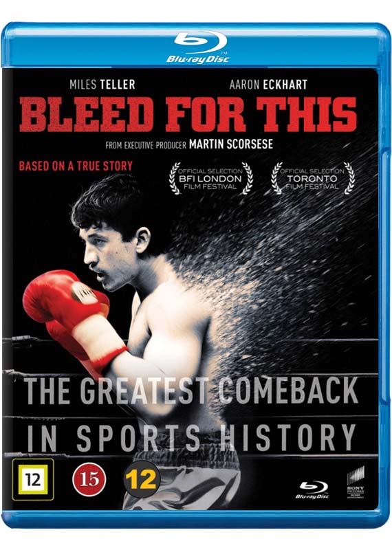Bleed for This Blu-ray cover