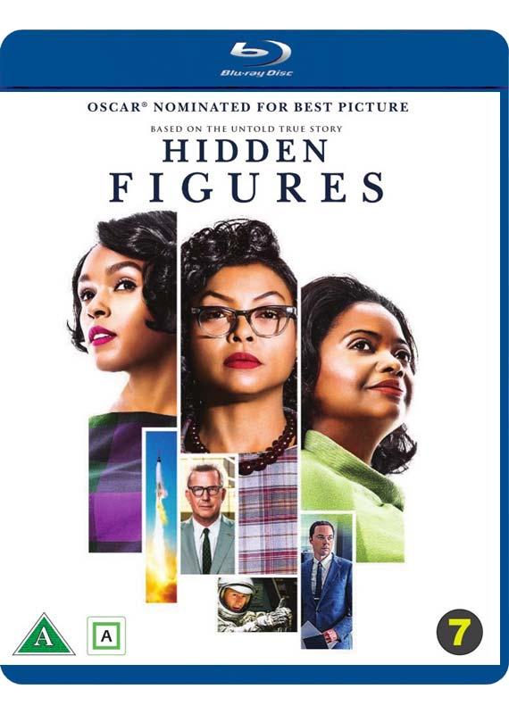Hidden Figures blu-ray cover
