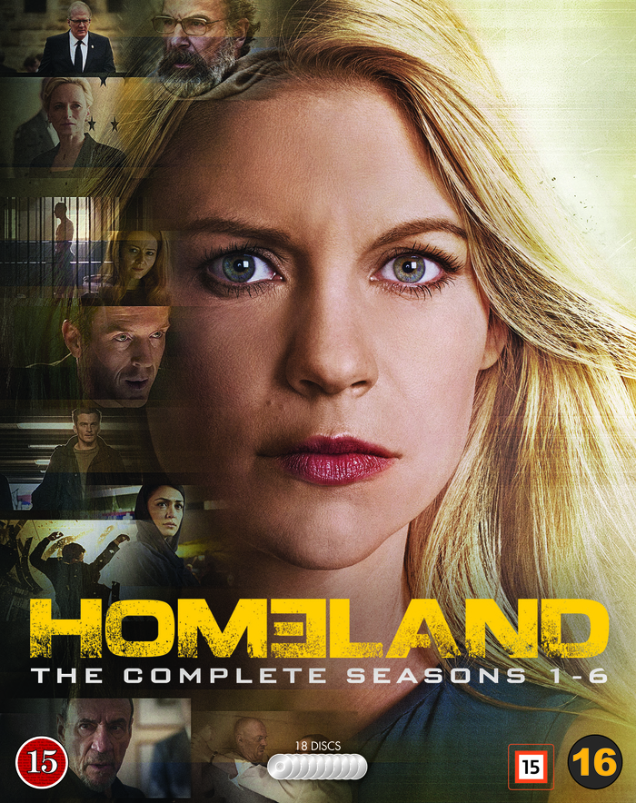 Homeland 1-6 blu-ray cover