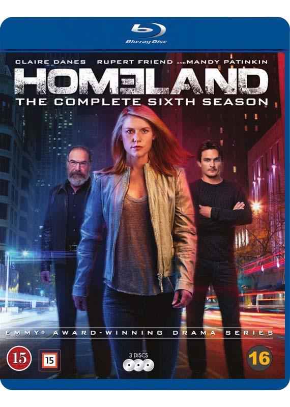 Homeland season 6 blu-ray cover