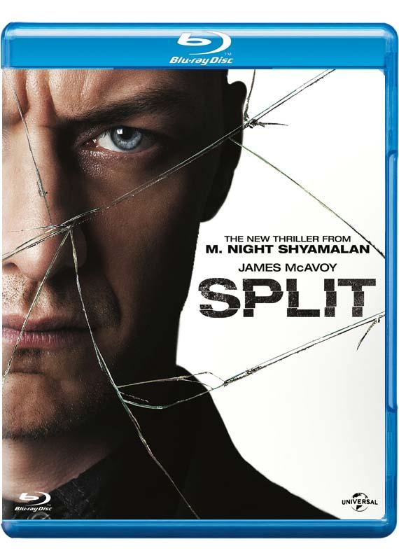 Split Blu-ray cover