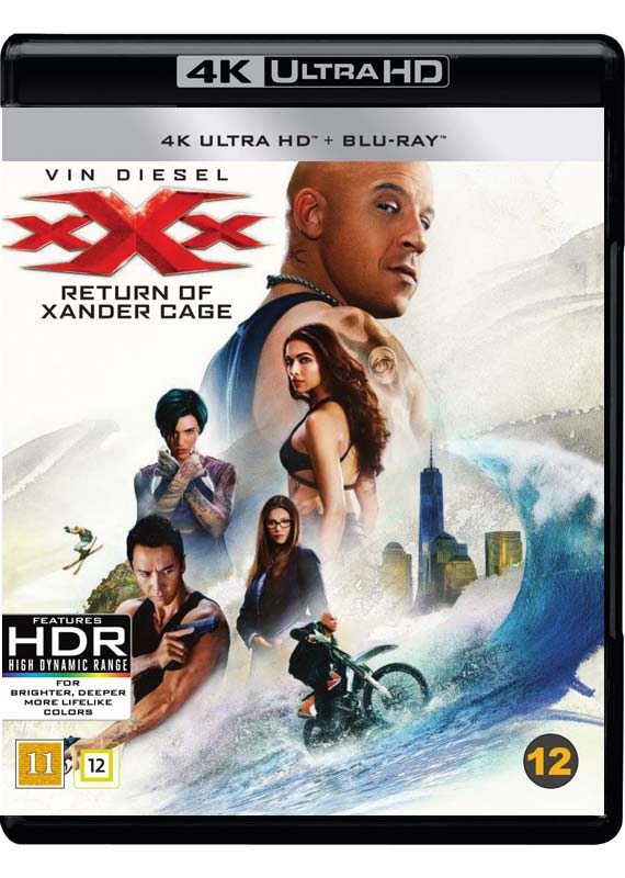 xXx Return of Xander Cage 4K cover