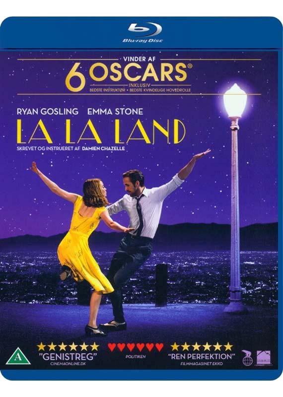 La La Land blu-ray cover