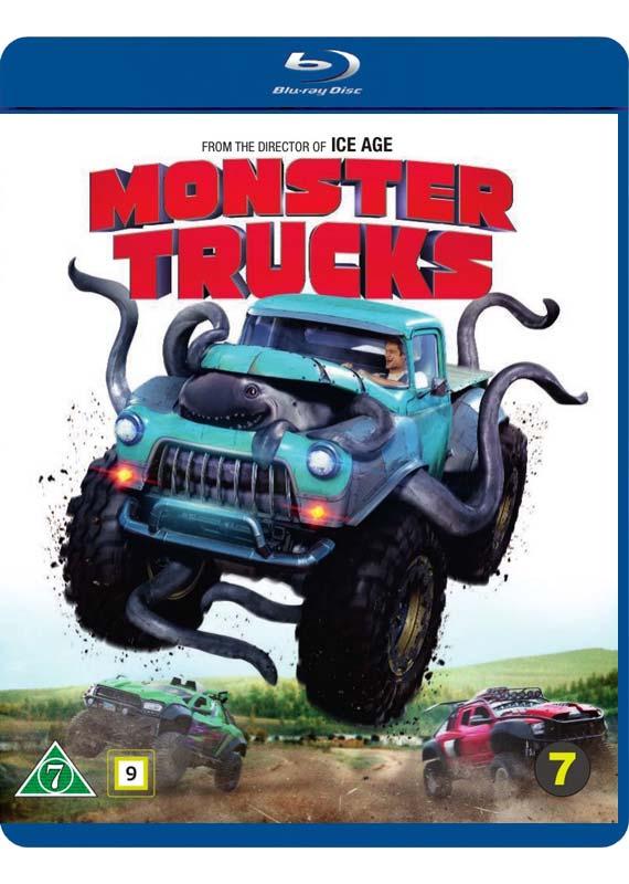 Monster Trucks Blu-ray cover