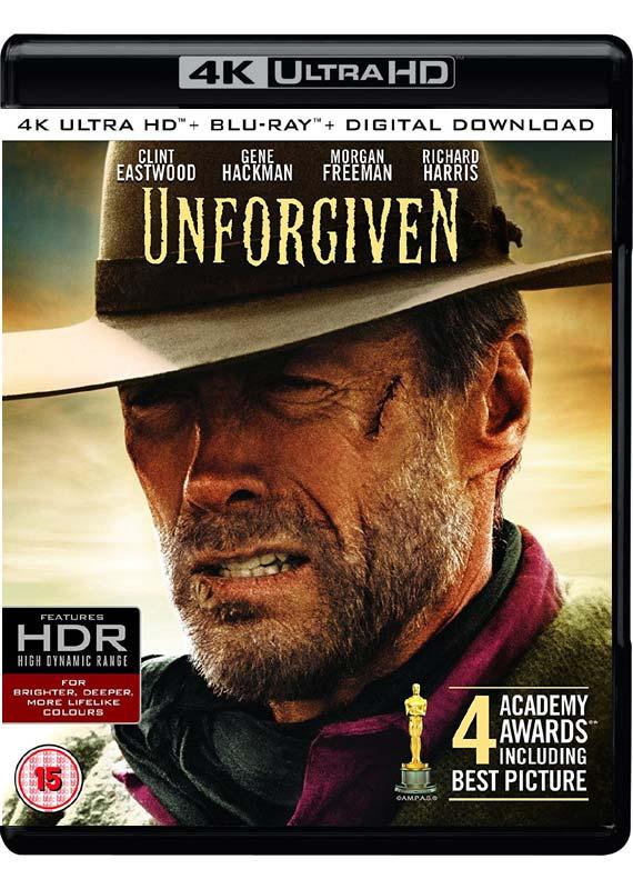 unforgiven 4k ultra hd cover